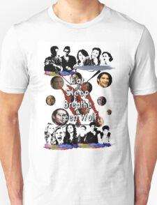 Teen Wolf Jumble Unisex T-Shirt