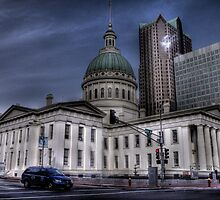 Historic St. Louis Courthouse by Terence Russell