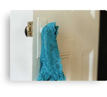 Blue Knickers Canvas Print