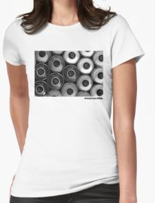 Anonymous Artists - Graffiti Womens Fitted T-Shirt