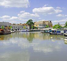 Bancroft Basin, Stratford-upon-Avon by Rod Johnson