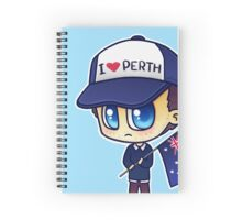 Rob (Does Not) Hate Perth Spiral Notebook