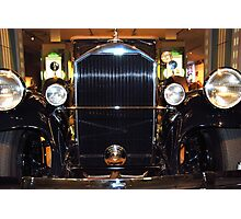 The art of the car: 1931 Pierce Arrow Full Frontal Photographic Print