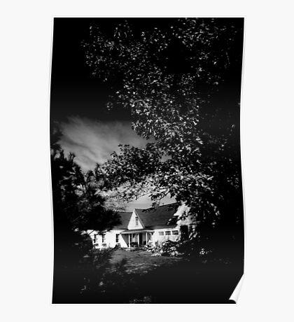 MAINE HOUSE, NEW ENGLAND USA Poster