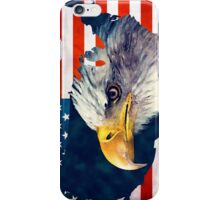 USA flag eagle iPhone Case/Skin