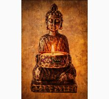 Buddha with candle Unisex T-Shirt