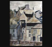 The Sea Front, Staithes T-Shirt