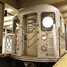 Subway Car At Grand Central Station by Marjorie Smith