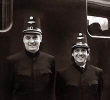 Train Conductors - Austria by Kent DuFault