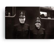 Train Conductors - Austria Canvas Print