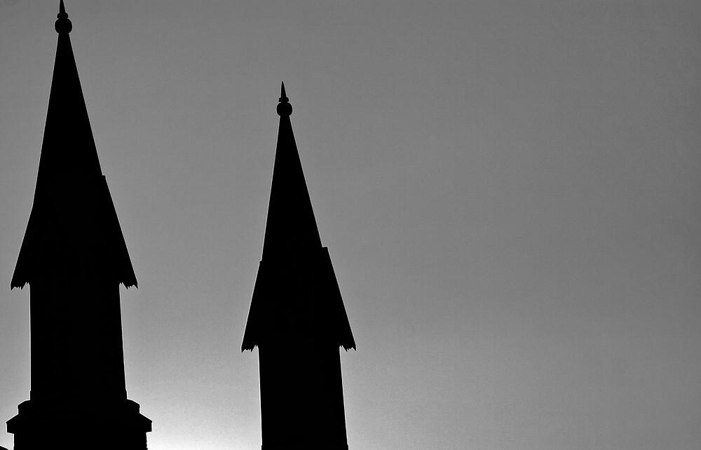 Church Peaks by IKeepScreaming