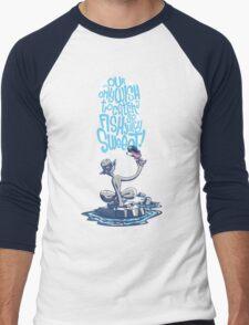 Rockses and Poolses Men's Baseball ¾ T-Shirt