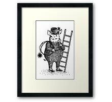 Pig - Boy Framed Print