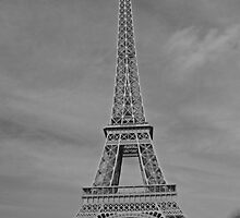 Tour Eiffel II by Al Bourassa