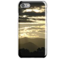 Dark Clouds with Silver Linings in Smoky Mountains iPhone Case/Skin