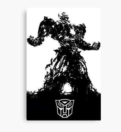 Transformers - Optimus Prime Canvas Print