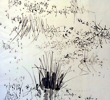 CAMARGUE ink on paper of china 50/65 by artjeantet