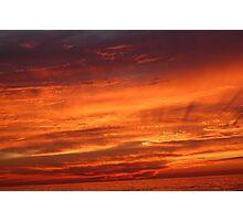 Dramatic Sky Photographic Print