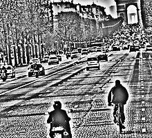 Les Champs Elysees by Al Bourassa