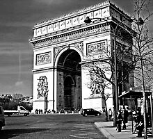 Arc De Triomphe by Al Bourassa