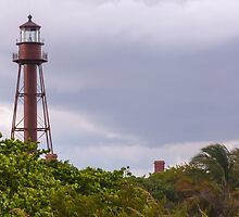 Sanibel Lighthouse  by John  Kapusta
