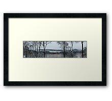 New Croton Panorama  Framed Print