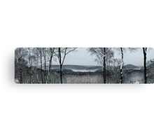 New Croton Panorama  Canvas Print