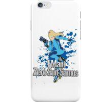 I Main Zero Suit Samus - Super Smash Bros. iPhone Case/Skin