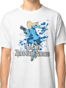 I Main Zero Suit Samus - Super Smash Bros. Classic T-Shirt