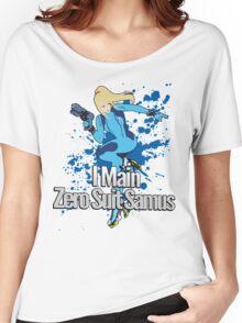 I Main Zero Suit Samus - Super Smash Bros. Women's Relaxed Fit T-Shirt