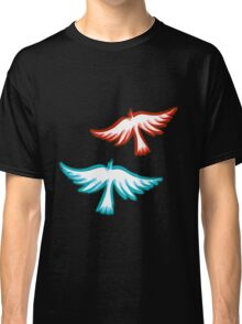 Birds blurred in Mind Classic T-Shirt