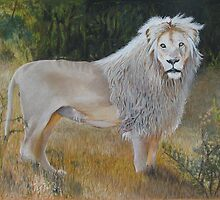 White Lion  by Lance Barnard