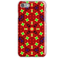 Colorful trendy abstract pattern iPhone Case/Skin