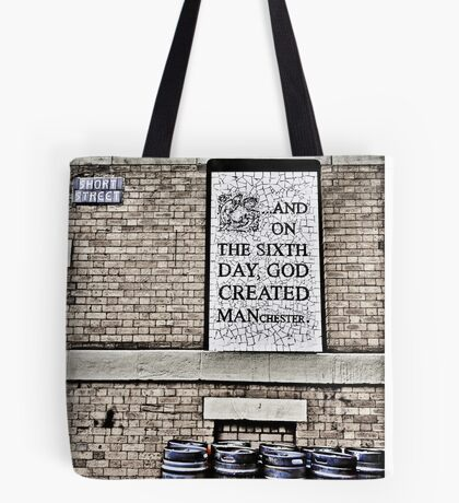 On the Sixth Day....... Tote Bag