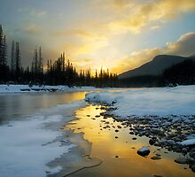 Banff sunrise by Philippe Widling