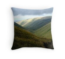 the howgill sheep Throw Pillow