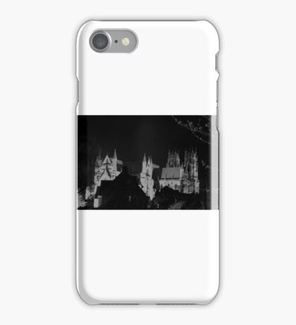 beverley minster at  night iPhone Case/Skin