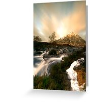 Stob Dearg (Buachaille Etive Mor) Greeting Card
