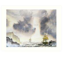 Chasing Storm Art Print