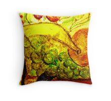 naturmort pastel Throw Pillow