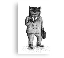 Cat - Boy Canvas Print