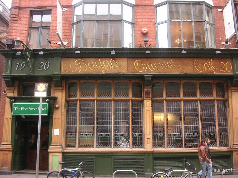 Bewleys Oriental Cafe, Temple bar area Dublin by heartyart