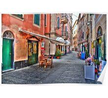 Rapallo Alley Poster