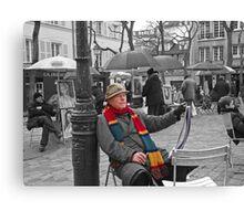 Montmartre Artist Canvas Print