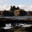 Tantallon Castle - Scotland by Derek McMorrine