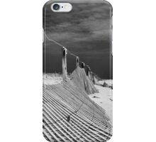 black sky/white sand iPhone Case/Skin