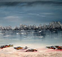 A serene day in winter by david hatton