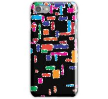 Colorful geometric vector abstraction iPhone Case/Skin