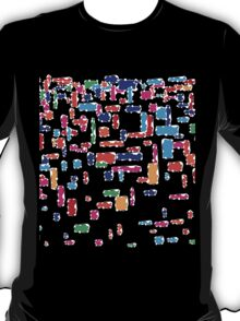 Colorful geometric vector abstraction T-Shirt