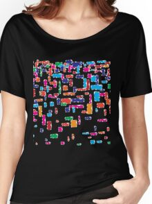 Colorful geometric vector abstraction Women's Relaxed Fit T-Shirt